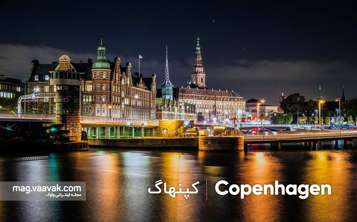 اینترنت اشیا در شهر کپنهاگ