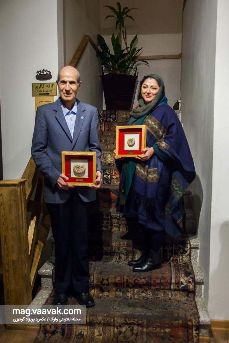 محمدرضا صیاد و نفیسه نعیمیپور