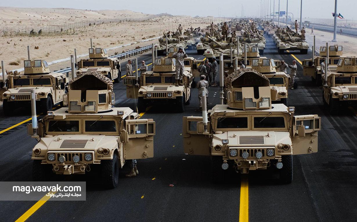 رزمایش خودروهای بدون سرنشین در ارتش آمریکا